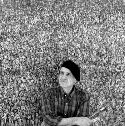 Manouchehr Niazi - Contemporary Modern Artist at sholeh abghari art gallery marbella