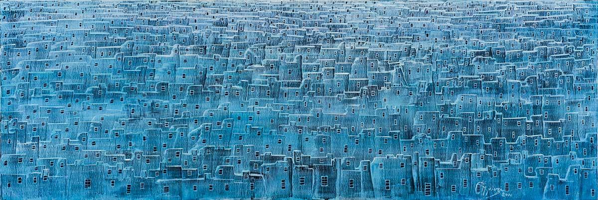 sholeh abghari contemporary art gallery in Marbella - Iran contemporary art from artists around the world. Manouchehr Niazi - Contemporary Modern Artist gallery sholeh abghari marbella