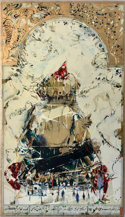 "SHAHRIAR"" from 1001 Night series 2015 Shahriar Ahmadi SHOLEH ABGHARI art gallery"