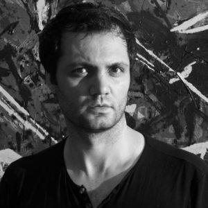 Shahriar Ahmadi Contemporary Modern Artist at sholeh abghari art gallery marbella