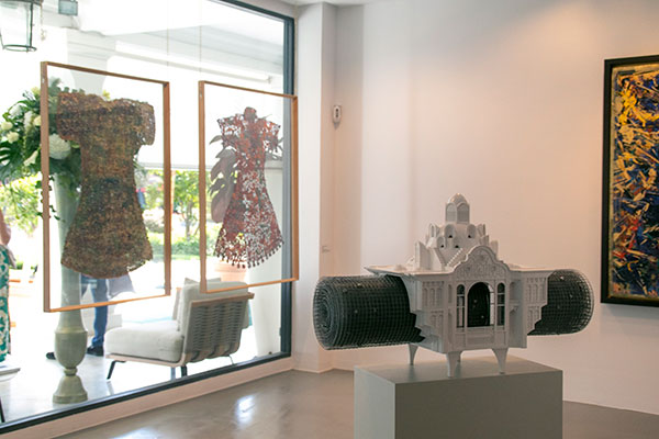 marbella art gallery, contemporary art Sholeh Abghari