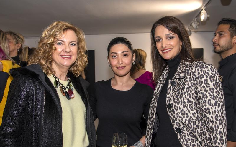 art gallery marbella Sholeh Abghari erotika exhibition Soozan Shahabi
