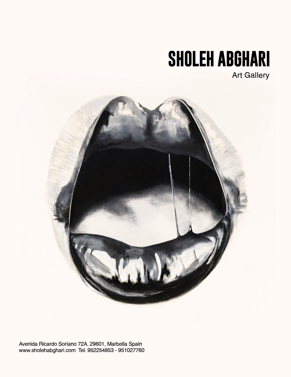 sholeh-abghari-erotika-magazine-art gallery marbella