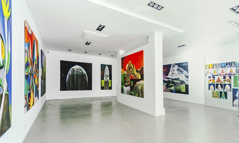 Eric Massholder exhibition sholeh abghari art gallery marbella
