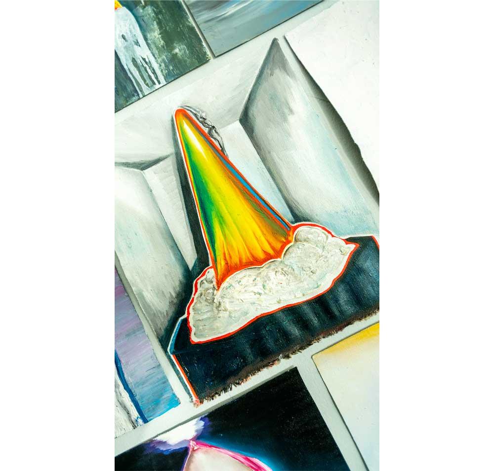 eric massholder exhibition sholeh abghari art gallery marbella 2020