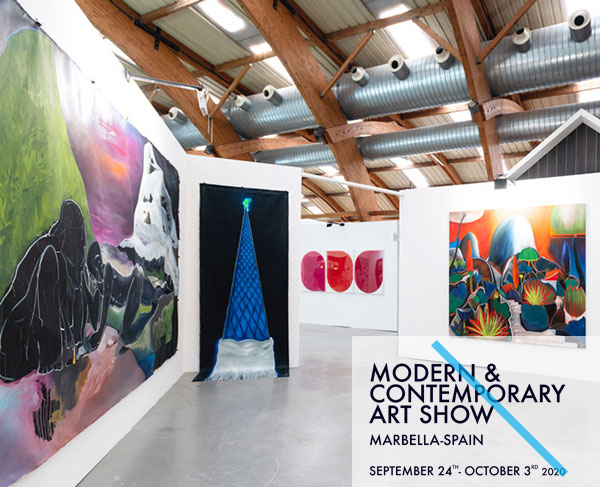 marbella art fair 2020 sholeh abghari exhibition
