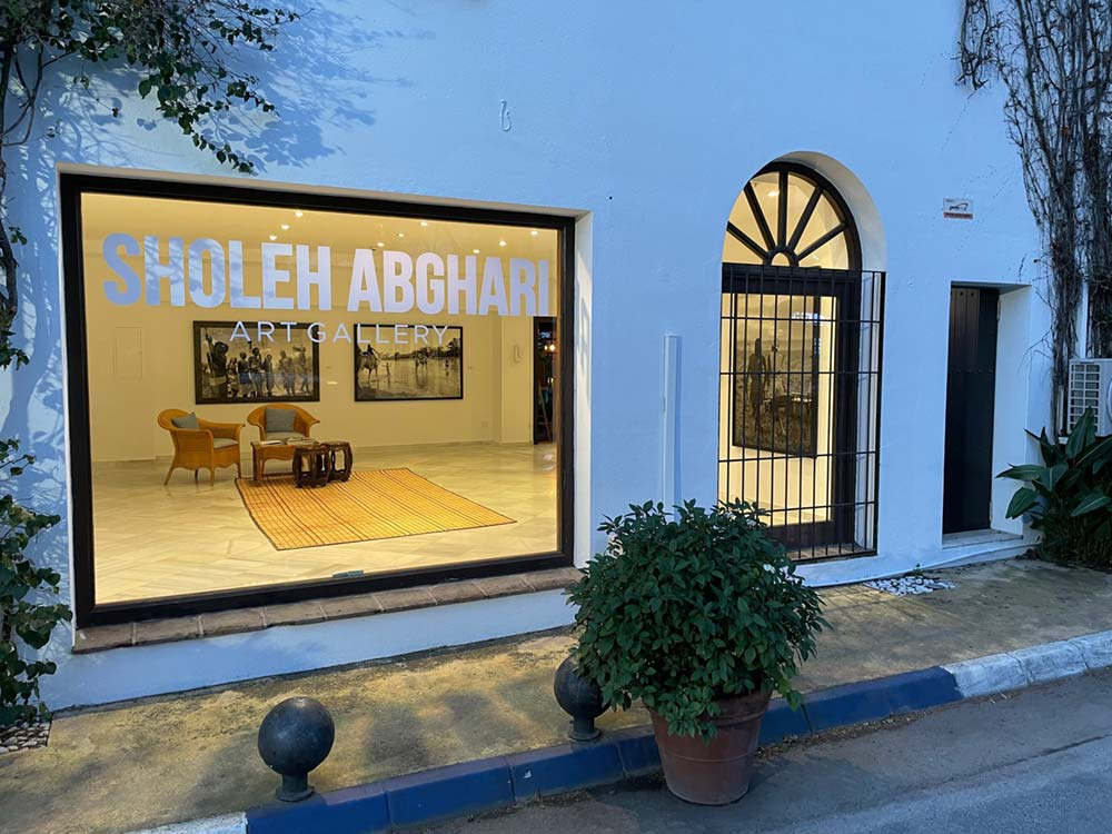 Sholeh Abghari gallery is pleased to announce its new venture with a new space at the Marbella Club Hotel