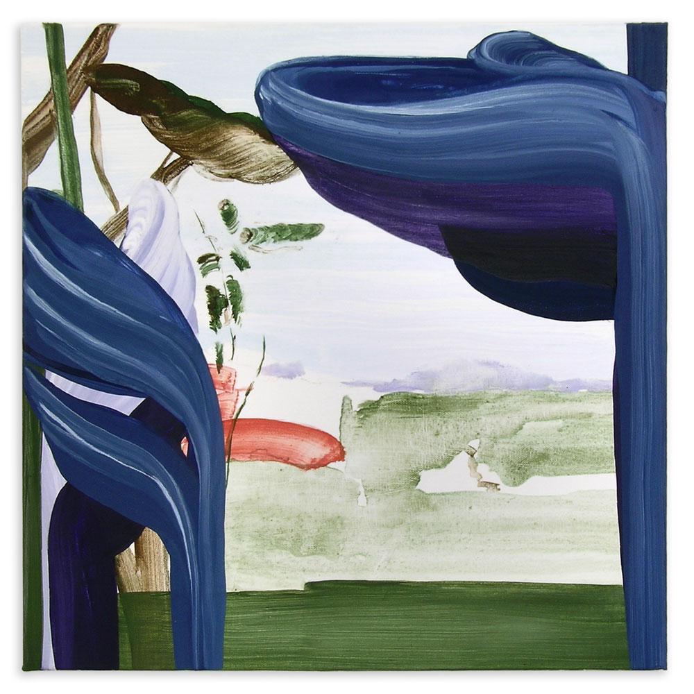 moje assefjah Covered by 1 2013 egg tempera on canvas 50-x-50-cm sholeh abghari art gallery marbella